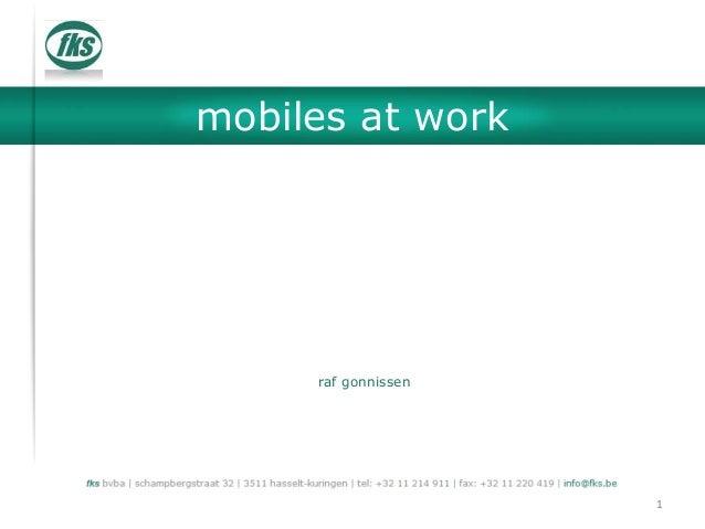 mobiles at work raf gonnissen 1