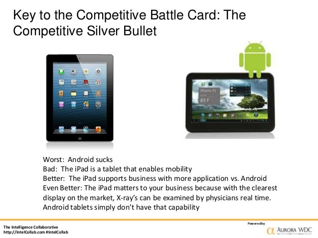 How Competitive Sales Battlecards And Silver Bullets Open The Door To