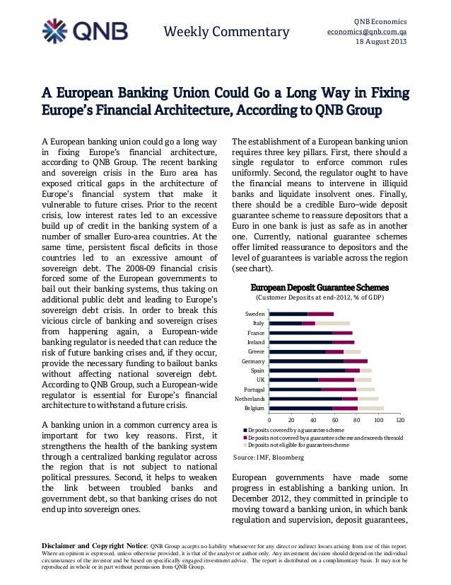 A European Banking Union