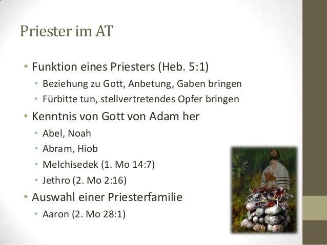 Jesus Christus, unser Hoherpriester Slide 2
