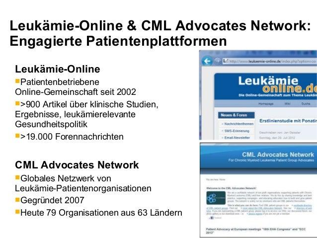 Patientennutzen stärker in den Fokus rücken - Jan Geissler - DGHO-Pressekonferenz 21.08.2013 Slide 2