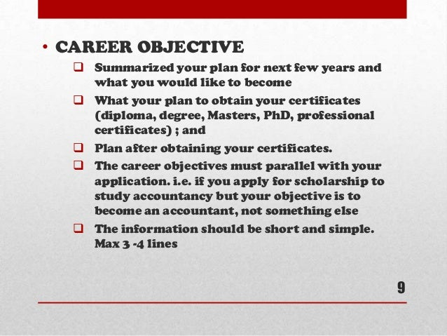 essay on career objectives You will make decisions about your career we hope that this essay will give you a better understanding personal and career objectives that mesh with.