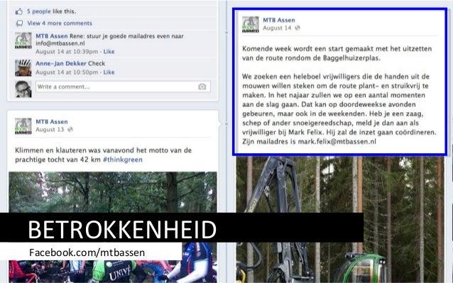 BETROKKENHEID Facebook.com/mtbassen