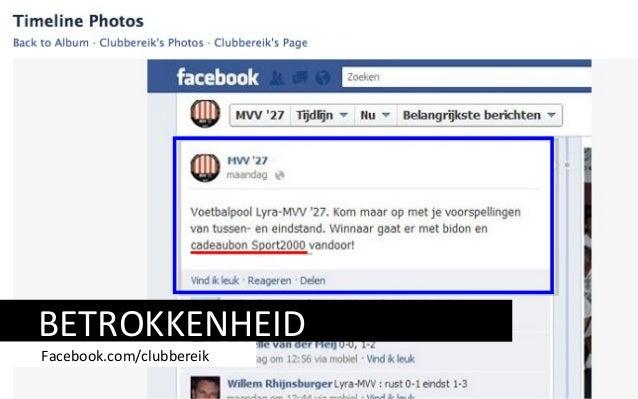BETROKKENHEID Facebook.com/clubbereik