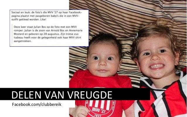 DELEN VAN VREUGDE Facebook.com/clubbereik