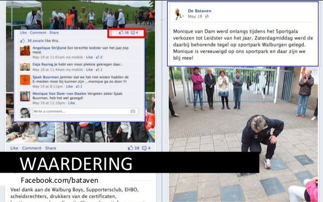 WAARDERING Facebook.com/bataven cc