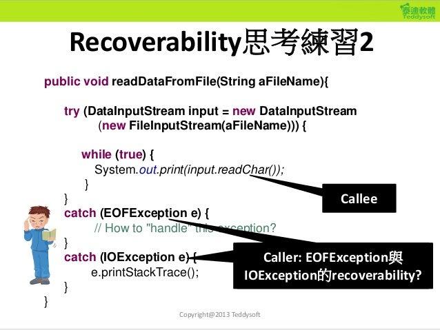 public void readDataFromFile(String aFileName){ try (DataInputStream input = new DataInputStream (new FileInputStream(aFil...