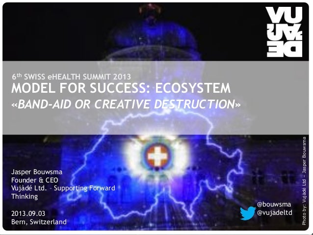 © Vujàdé Ltd. – Supporting Forward Thinking Slide |Slide |© Vujàdé Ltd. – Supporting Forward Thinking MODEL FOR SUCCESS: E...
