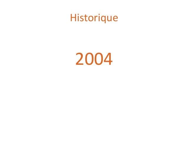 Historique 2004