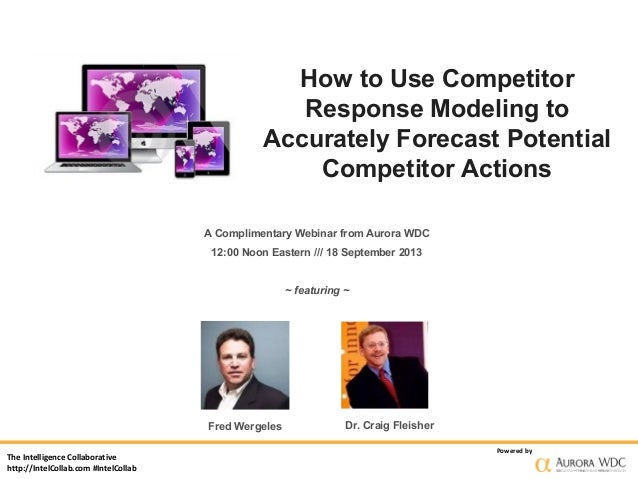 The Intelligence Collaborative http://IntelCollab.com #IntelCollab Powered by How to Use Competitor Response Modeling to A...