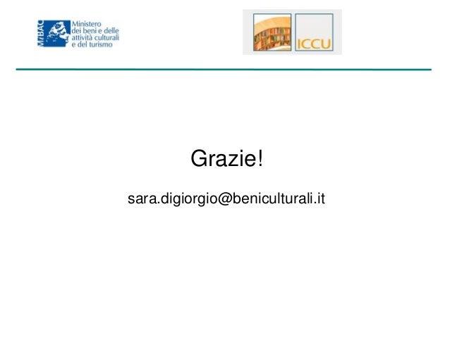 Il portale della cultura e Europeana