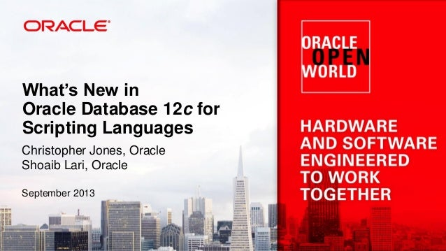 What's New in Oracle Database 12c for PHP Slide 2