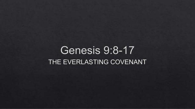 Study Slides for Genesis 9:8-17