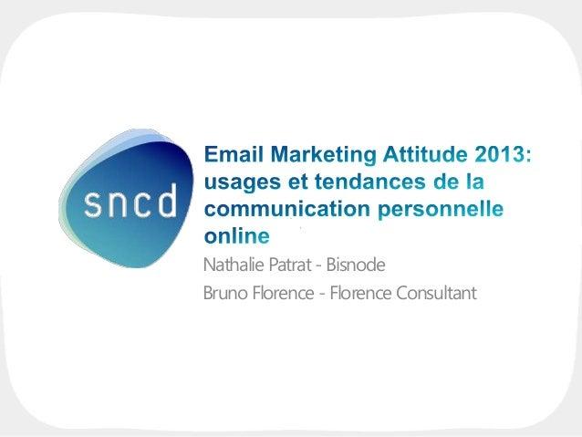 Nathalie Patrat - Bisnode Bruno Florence - Florence Consultant