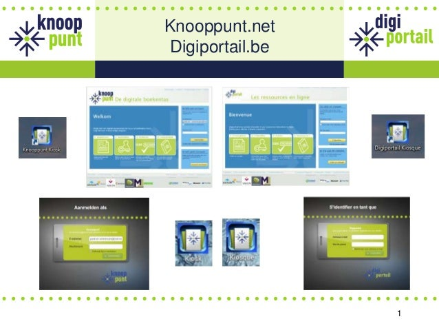 1 Knooppunt.net Digiportail.be