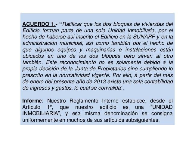 20130927. implementación de acuerdos de la junta del 25 abr 2013 Slide 2