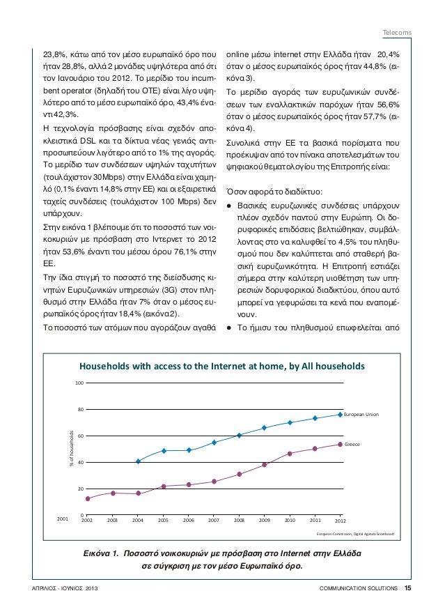 Άρθρο European Telecom Market στο Communication Solutions Slide 2