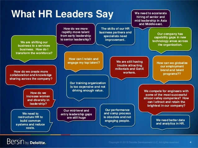 What HR Leaders Say We are shifting our business to a services business. How do I transform the workforce?  How do we more...
