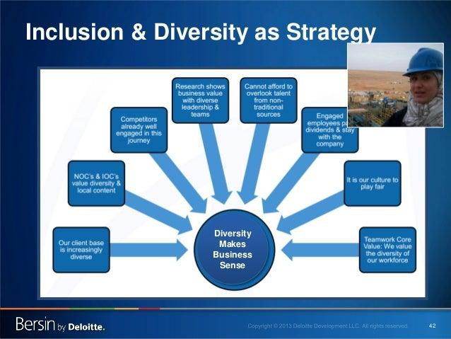 Inclusion & Diversity as Strategy  Diversity Makes Business Sense  42