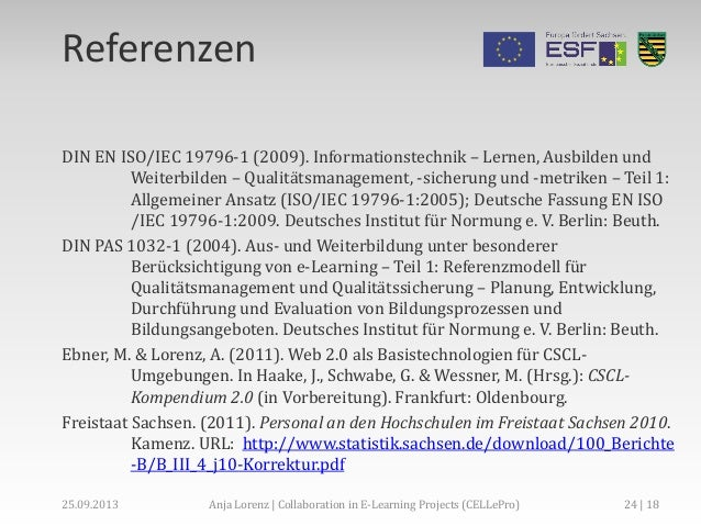 Collaboration in e learning projects celepro for Nc an fachhochschulen