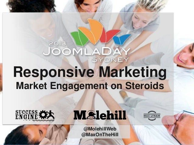 Responsive Marketing Market Engagement on Steroids  @MolehillWeb @MaxOnTheHill