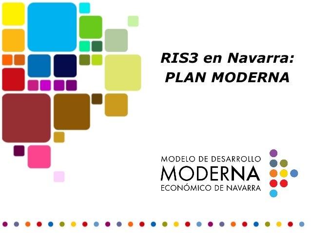 RIS3 en Navarra: PLAN MODERNA