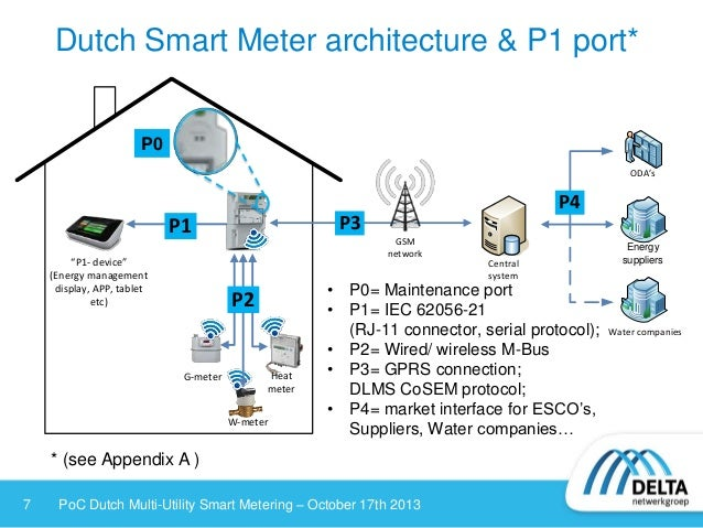 dutch multi utility smart metering with direct in home