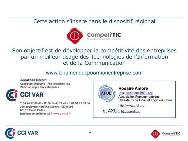 2 Cette action s'insère dans le dispositif régional Son objectif est de développer la compétitivité des entreprises par un...
