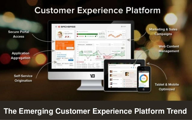 Customer Experience Solutions. Delivered.  1  The Emerging Customer Experience Platform Trend