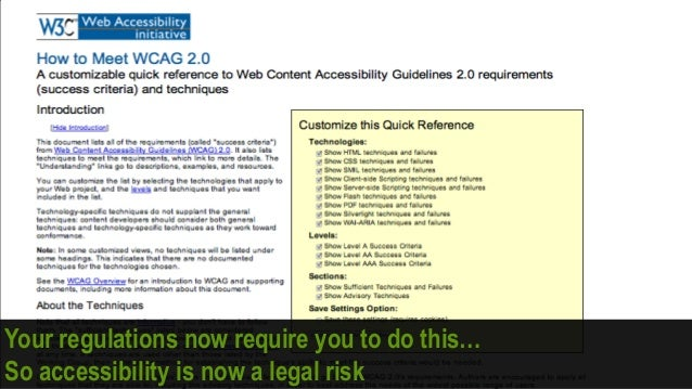How can websites comply with accessibility legislation and