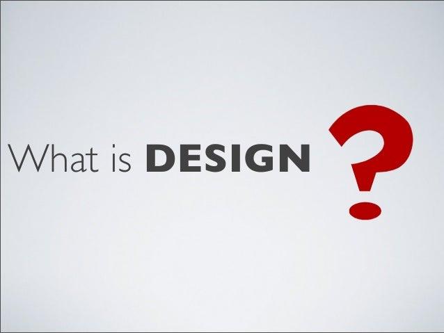 好設計如何好 @ C.C. Agile #14 Slide 2