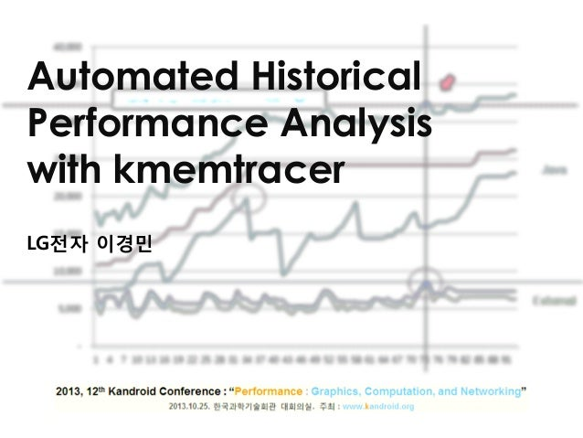 Automated Historical Performance Analysis with kmemtracer LG전자 이경민