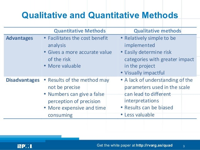 advantages of research methodology What is qualitative research, the advantages and disadvantages of qualitative research - qualitative research is about exploring.