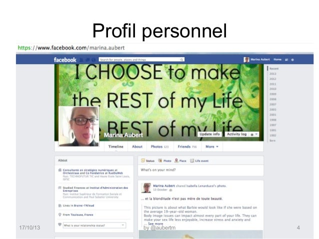 Profil personnel  17/10/13  by @aubertm  4