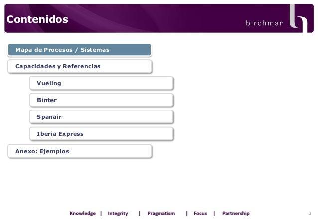 Presentaci n l neas a reas birchman for Oficinas iberia express