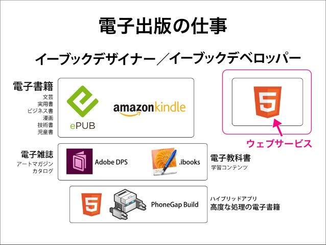 電子出版の仕事  ウェブサービス