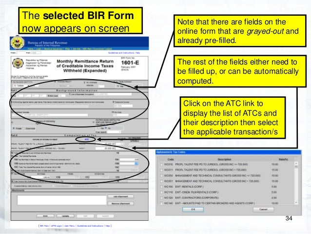 bir form 1700 Guidelines and instructions for bir form no 1700 june 2013 (encs) 2 bir form no 1702-rt (page 6 of 6) the tax shall be paid with the concerned revenue collection.