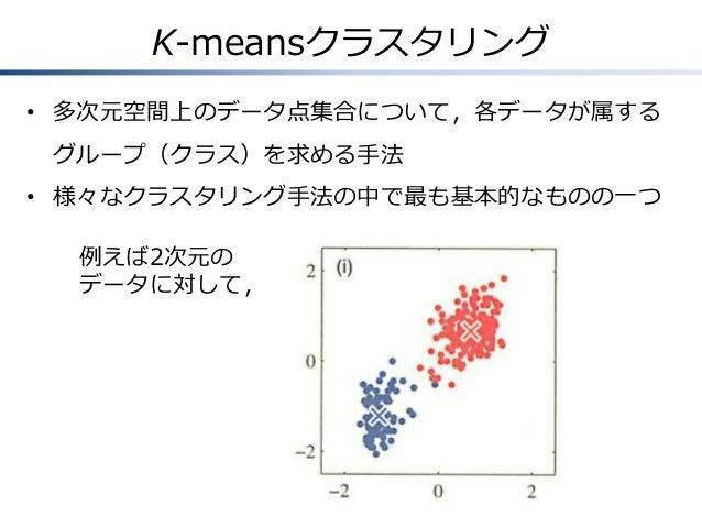 混合モデルとEMアルゴリズム(PRML第9章) Slide 2