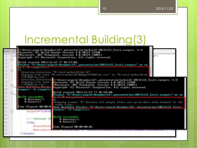 10  Incremental Building(3)  2013/11/25