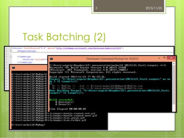5  Task Batching (2)  2013/11/25