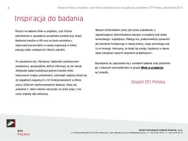 20131116 raport badanie_wiek_w_projekcie Slide 2