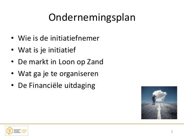 Ruimte voor Ideeën | Ondernemingsplan | Door: Pim Dusee Slide 2