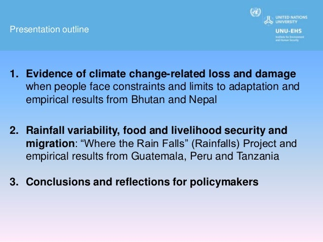 Building climate change resilience in mountains: evidence from Bhutan…