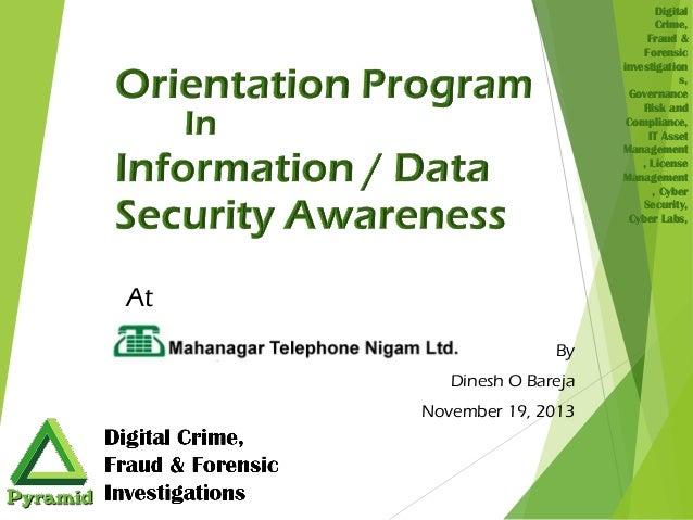 Digital Crime, Fraud & Forensic investigation s, Governance Risk and Compliance, IT Asset Management , License Management ...