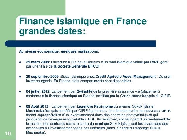 Les finances islamiques en france - Credit islamique en france ...