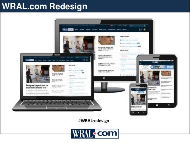 WRAL.com Redesign  #WRALredesign
