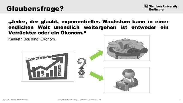 Nachhaltigkeitscontrolling - Daten erheben oder Wandel leben? Slide 2