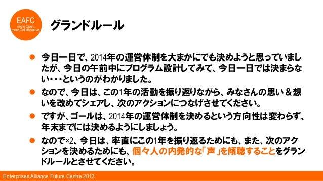 一般社団法人企業間フューチャーセンター運営体制検討会 Slide 3