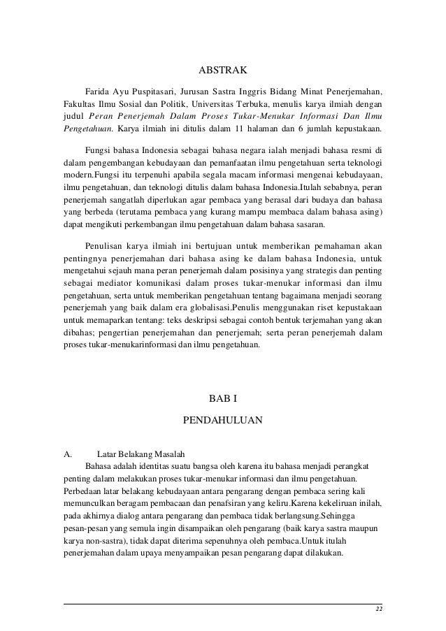 Contoh Abstrak Dalam Skripsi Bahasa Inggris Brad Erva Doce Info
