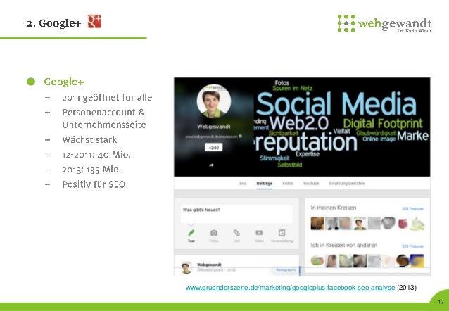 Social Media in der Wissenschaft & Twitter Praxis - FH Frankfurt 26.11.2013 Reihe inforum  - webgewandt (K. Windt)